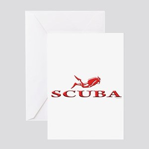SCUBA Dive Greeting Card