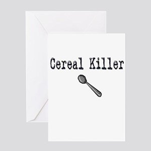 Buy Cereal Killer Funny shirt Greeting Card