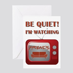 BE QUIET! Greeting Card