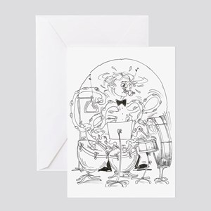 Multi-task Percussion Greeting Card
