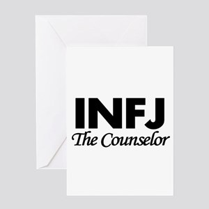 INFJ | The Counselor Greeting Cards