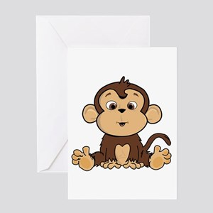 Monkey Greeting Cards