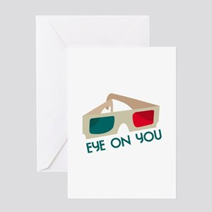 Eye On You Greeting Cards