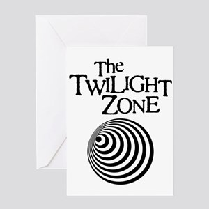 Twilight Zone Greeting Card