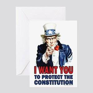to Protect the Constitution Greeting Card