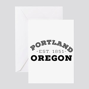 Portland Oregon Greeting Cards