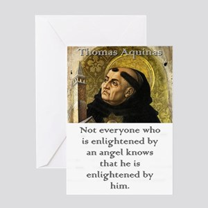 Not Everyone Who Is Enlightened - Thomas Aquinas G