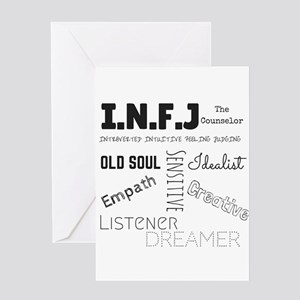 INFJ Greeting Cards