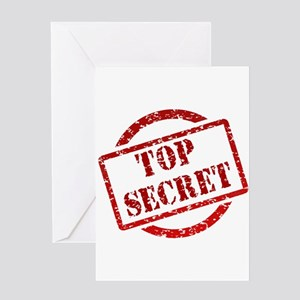 Top secret Greeting Cards