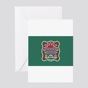 Abenaki Flag 2 Greeting Cards