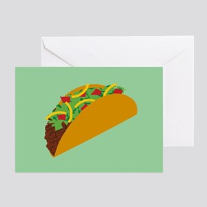 Taco Graphic Greeting Card