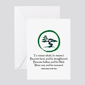 The Tao of the Tree Greeting Card