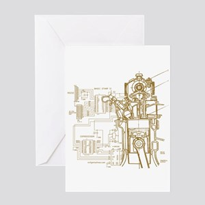 Mech tech engineering Greeting Card