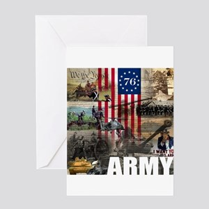ARMY 1776 Greeting Card