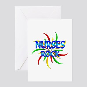 Nurses Rock Greeting Card