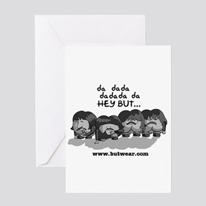 Hey But-bw- Latter Years Greeting Card