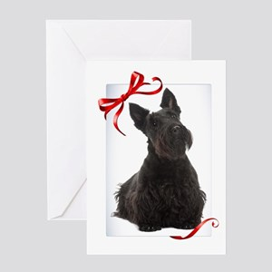 Scottie Christmas Greeting Cards