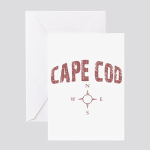 Cape Cod Compass Greeting Card