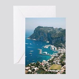 Italy, Capri  Greeting Card