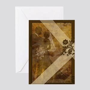 Earth Tones and Texture Greeting Cards