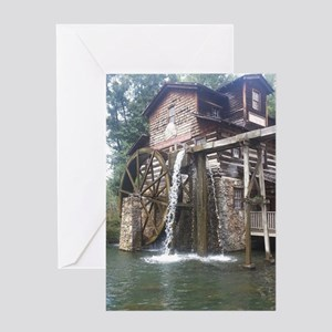Dollywood Grist Mill Greeting Card