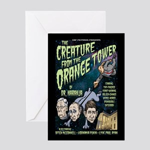 Creature of Dr. Naranja III Greeting Card