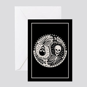 Yin & Bones Greeting Card