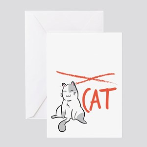 Cats Cat Lover Really Love Cat Cat Greeting Cards