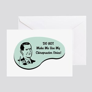 Chiropractor Voice Greeting Card