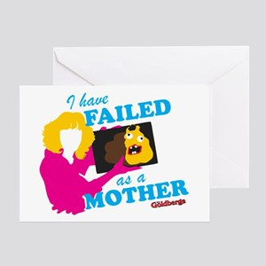Failed Cake The Goldbergs Greeting Cards
