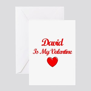 David is my Valentine Greeting Card