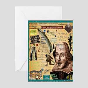 Shakespeare Card Greeting Cards