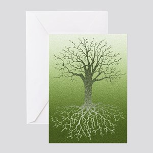 Meditative Solstice Card Greeting Cards