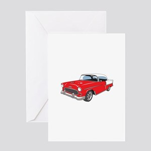 CLASSIC CAR MD Greeting Cards