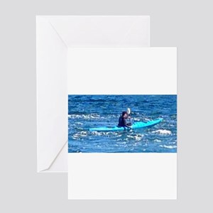 The Rower Greeting Cards