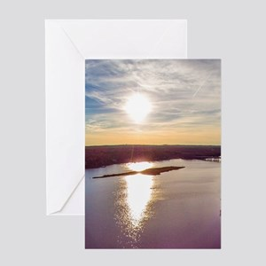 Peconic River Greeting Cards