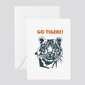 GO TIGERS! Greeting Cards