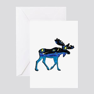 MOOSE IT Greeting Cards