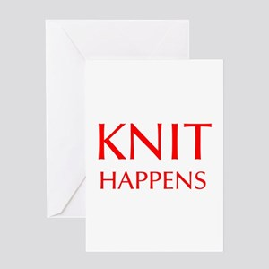 knit-happens-OPT-RED Greeting Card