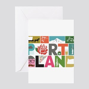 Unique Portland - Block by Block Greeting Cards