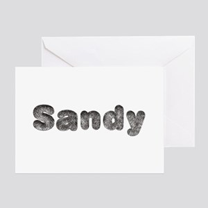 Sandy Wolf Greeting Card