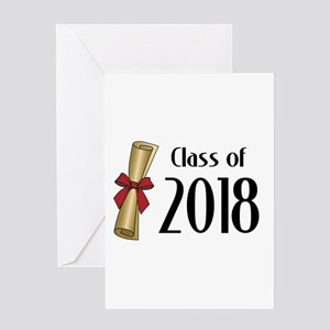 Class of 2018 Diploma Greeting Card