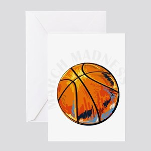 march madness Greeting Cards