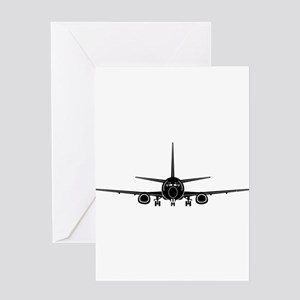 Airplane Greeting Cards