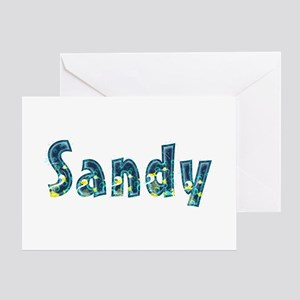 Sandy Under Sea Greeting Card