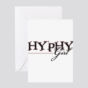 Hyphy Girl Greeting Card