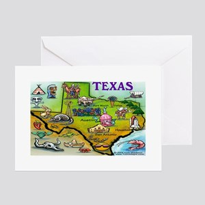 TEXAS11x17 Greeting Cards