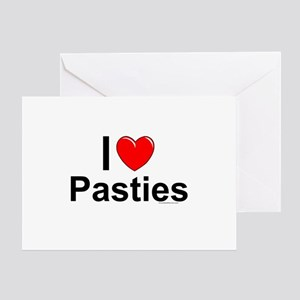 Pasties Greeting Card
