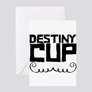 Destiny Cup Greeting Cards