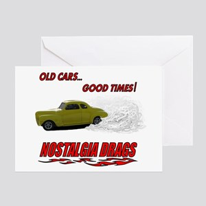 OLD CARS...GOOD TIMES! T-Shir Greeting Card